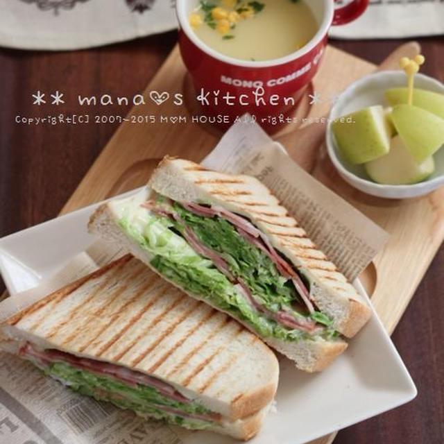 BCCサンドイッチ♪