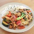 夏野菜と豚肉の韓国風炒め by Keiさん