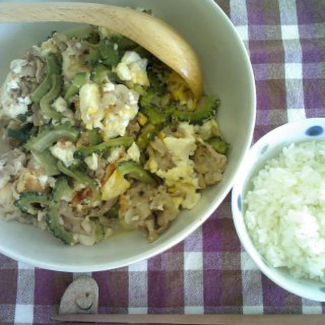 レシピ塩ゴーヤチャンプルー