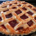 赤毛のアンのルバーブのパイ