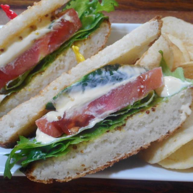 グルテンフリー野菜サンド