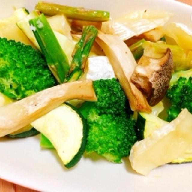 【簡単】焼き野菜☆切って乗せてグリル任せ♪
