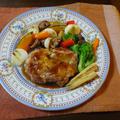 ソースがきめてのチキンソテーと彩り野菜のグリル by KOICHIさん