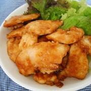 簡単♪♪鶏むね肉の甘辛しょうが焼き風☆