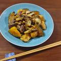 【秋のこってり時短レシピ】甘じょっぱくコク旨! 鶏むね肉・南瓜とキノコの炒め煮