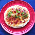 トースターで簡単きのこの旨味広がるトマトとカルパスピザ