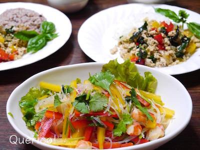 フレッシュなパクチーたっぷり!タイ風春雨サラダ(ヤムウンセン)