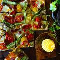 簡単時短 10分以内で しゅうまいの皮と野菜のミルフィーユピッツァ -  スパイス大使 -