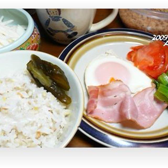 1229☆Ane朝ご飯・・♪
