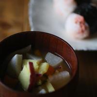 一汁一菜でダイエット「根菜のお味噌汁」【ヤマキだし部】