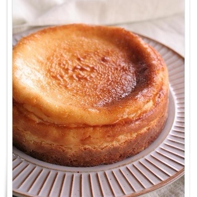 いよかん風味のベイクドチーズケーキ