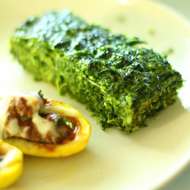 ほうれん草のケーキ *Spinach Cake*
