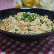 簡単炒り豆腐