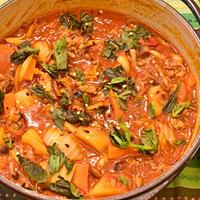 11月15日 金曜日 トマト味噌鍋