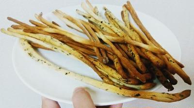 自家製天然酵母でグリッシーニのレシピ