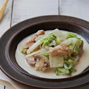 定番食材で作る「鶏肉×白菜」の煮込みおかず