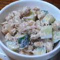 ツナと大豆のサラダ