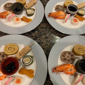 港区★お食事会にて出張料理