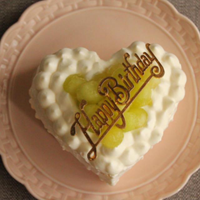 ホットケーキミックスで簡単スポンジケーキ!でメロンのショートケーキ