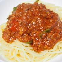 マ・マーの早ゆでスパゲティで簡単パスタ