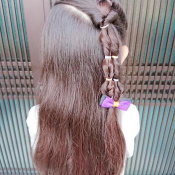 ☆くるりんぱで簡単ダウンヘア☆