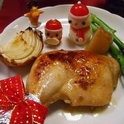 2013年クリスマスディナー★漬け込んで焼くだけ♪ローストチキン