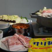 キムチ鍋の晩ごはん