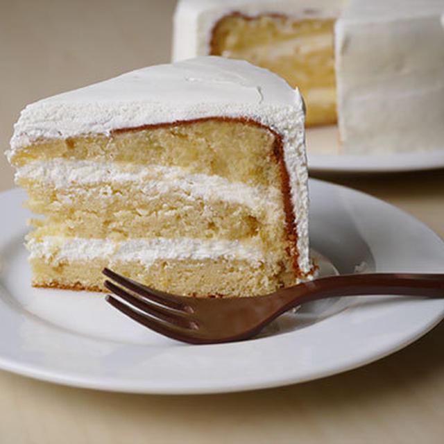 ヨーグルトクリームレモンケーキ