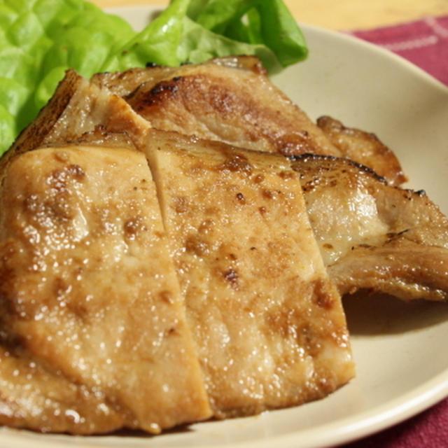 豚の生姜焼き Pork ginger