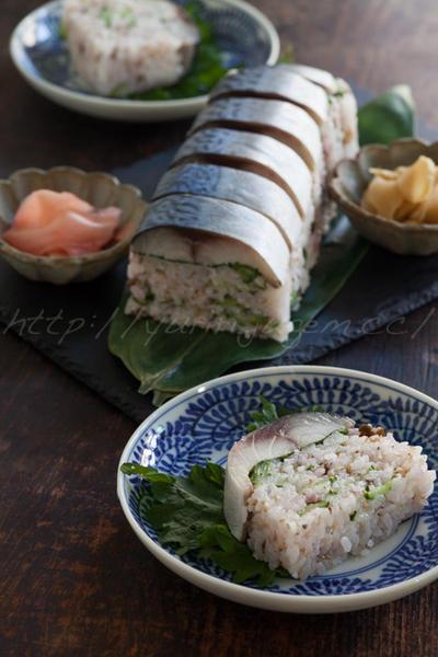 押し寿司、巻き寿司、手まり寿司