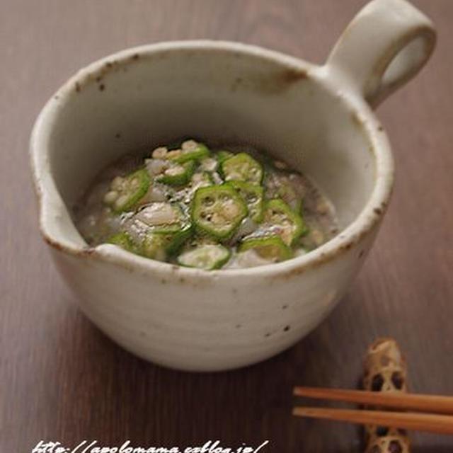 おくらの蛸ワサ和え と 【つくれぽ】沢庵生姜