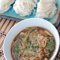 焼肉のタレで☆韓国風つけ素麺