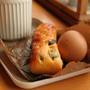 基本のパンアレンジ編☆レーズンスナックパン