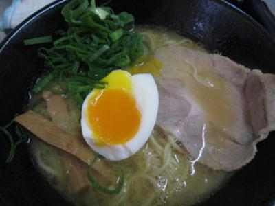 今日の自作ラーメン:名古屋コーチンの鶏白湯ラーメン