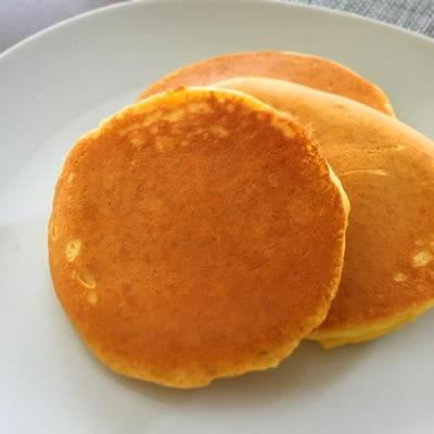 糖質OFF♡ふんわり美味しい大豆粉パンケーキ*せいせい