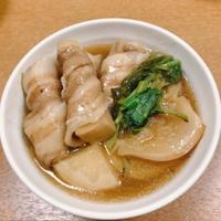 スターアニス(八角茴香)を使って、豚バラ巻き高野豆腐と蕪の黒酢煮