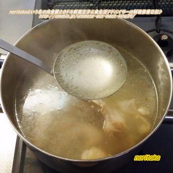 鶏ガラ&こびり付いたお肉の究極の??活用法と。。。初めての〇〇(∩´∀`)∩