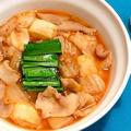 キムチアレンジ! 「豚肉と焼き餅のキムチ煮」の簡単人気レシピ by 伊賀 るり子さん