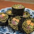 今年の恵方巻きは変わり種!蕎麦寿司にしてみたよ 簡単美味しい作り方