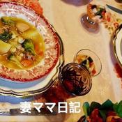 ポソレ風ジャイアントコーン入りスープ