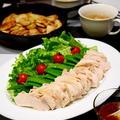 やわらか昆布煮鶏マスタードソース(洋風アレンジ)