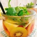 黒酢とリンゴ酢で【フルーツビネガーウォーター】(動画レシピ)