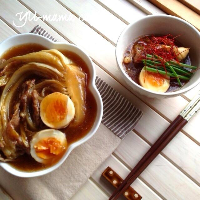 白菜と豚肉の角煮風ー卵入り〜明日の楽しみ〜コーヒーゼリーレシピ〜