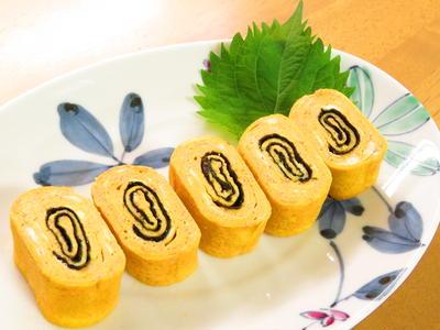 明太子バター醤油の海苔巻き卵☆お弁当に♪
