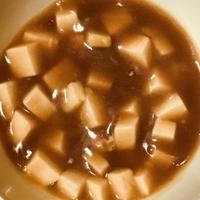母親の介護食・嚥下食にカレー豆腐を作り一緒に食べました