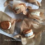 ふわふわっ ガーリック&ハーブチーズのクリームサンド