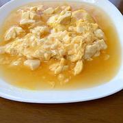 豆腐と卵のあんかけ