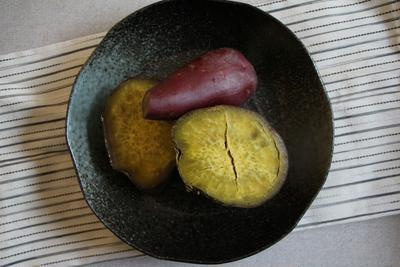 【簡単!】炊飯器でふかし芋*簡単♪サツマイモ料理2品