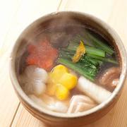 せっかく習ったので『江戸雑煮』をつくりました。(うちの年越しの様子きろく)