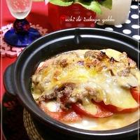 ★牛丼とトマトの豆腐グラタン★